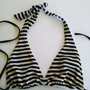 Tommy Hilfiger stripped bikini top